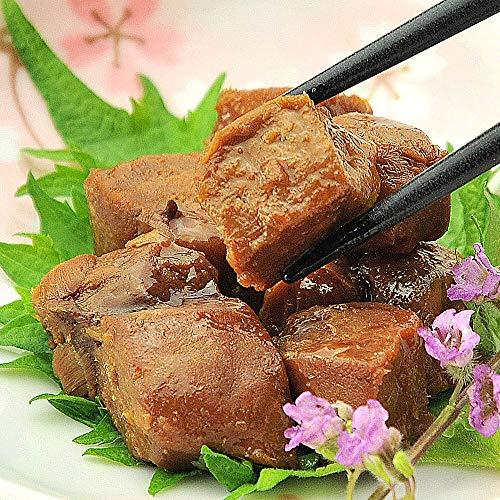 うめ海鮮 焼津港産 まぐろ尾肉の佃煮 110g×3個(佃煮 角煮)