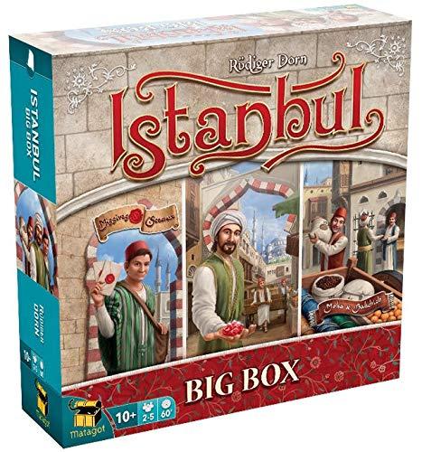 Matagot Istanbul Big Box Spiele, französische Ausgabe