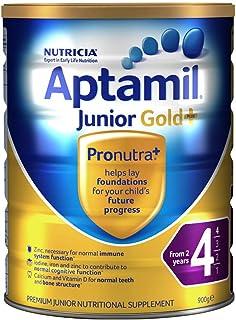 (跨境自营)(包税) Aptamil 新西兰爱他美 金装 婴儿奶粉 4段 900g(两岁以上)