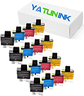 YATUNINK Compatible Ink Cartridge Replacement for Brother LC-41 LC41 Ink Cartridge Compatible for Brother DCP-116-C DCP-120-C MFC-3100 MFC-420-CN MFC-620-CN Printer (16 Pack)