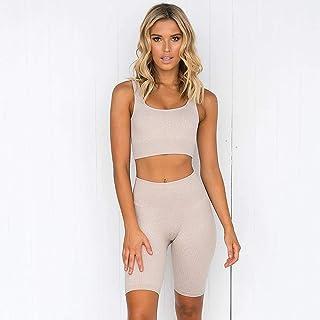 2 Pieces Women SetsSeamless Workout Women Sportswear Fitness Bra Sports Suits Gym Clothing Leggings Sport Women Fitness Suit