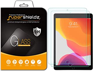 (2 Pack) Supershieldz for Apple New iPad 10.2 inch (2019, 7th Generation) Screen Protector, (Tempered Glass) Anti Scratch, Bubble Free