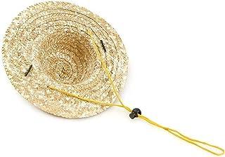 Justerbar Chihuahua Straw Hat, Fashion Dog Sombrero Hat Cap, Mexikanskt Party Hawaii Garden Sun Bucket Cap för valp och Ki...