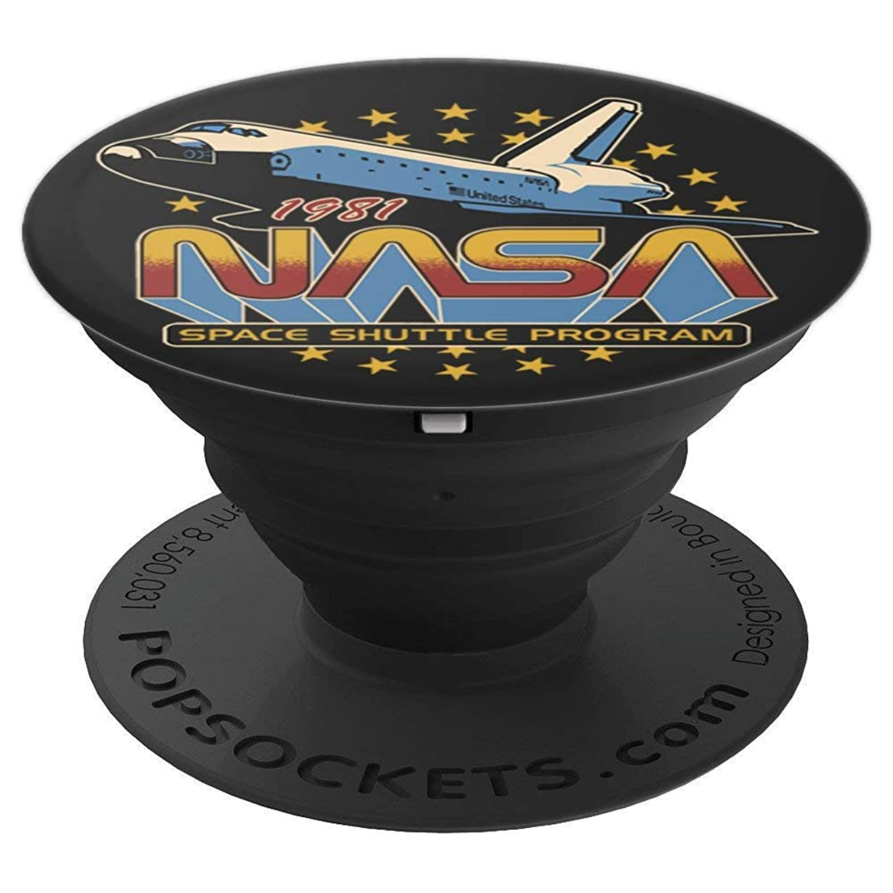NASA Space Shuttle Program 1981 - PopSockets Grip and Stand for Phones and Tablets