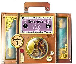 PackEscape Regala Experiencia Escape Room en Vivo. Un Regalo Original, Diferente y Divertido. Una Experiencia inolvidable. Personaliza tu Regalo escogiendo temática , Ciudad y Jugadores. (Reus)