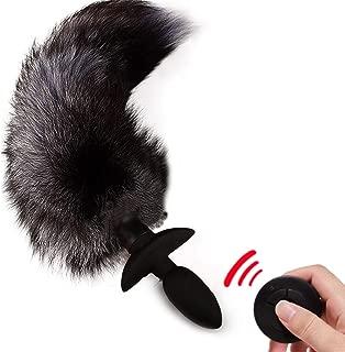 RT-NOSE Wireless Remote Control Ṿiḃṙaṫiọṇ Swing Animal Tail Amal Plug Rechargeable B-útt Plug SixToys for Women Men