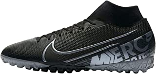 Mercurial Superfly 7 Academy TF Turf Soccer Shoes- Black (7)