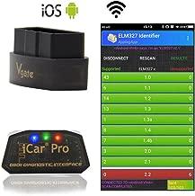 Suppyfly Mini ELM327 OBDII OBD2 Bluetooth herramienta de exploraci/ón de diagn/óstico del coche Auto OBD Scanner para dispositivos Android