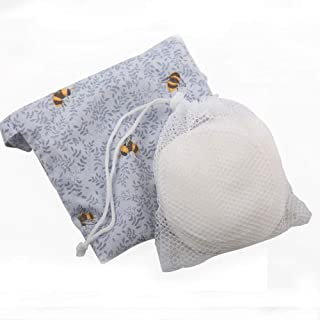 Simple&Opulence Premium Organic Cotton Rounds for Face(240 Gsm),100% Cotton,Absorbent and Soft,Eco-friendly Reusable Cotto...