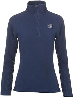 Karrimor Womens Ladies Microfleece Pullover Sportswear Activewear Top Warm