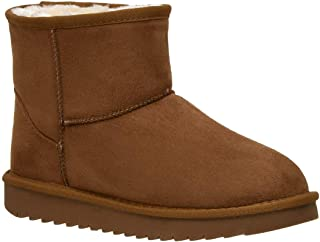 CUSHIONAIRE Women's Hipster Pull on Boot +Memory Foam
