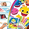 Crayola Baby Shark Wonder Pages Mess Free Coloring Gift, Kids Indoor Activities at Home #2