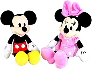 Disney Junior Mickey and Minnie Mouse Plush Toy Set, 11 Inch