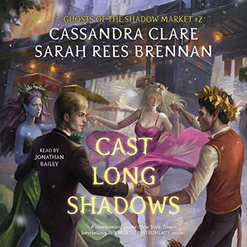 Cast Long Shadows Audiobook By Cassandra Clare, Sarah Rees Brennan cover art