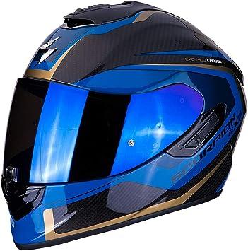 Scorpion Unisex Erwachsene Nc Motorrad Helm Schwarz Blau S Auto