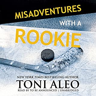 Misadventures with a Rookie audiobook cover art