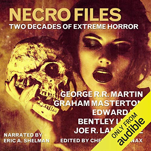 Necro Files audiobook cover art