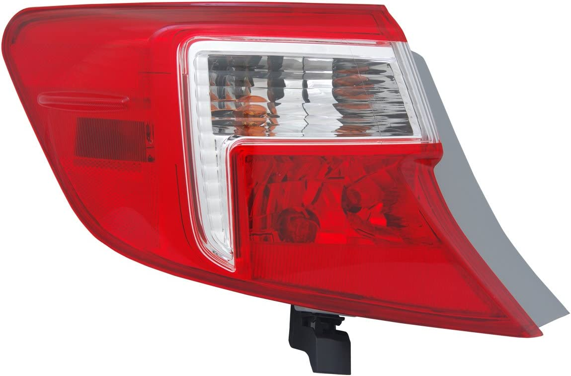 TYC 11-6412-00 Toyota Camry Left Replacement Tail Lamp