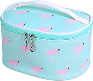 Neceser Maquillaje Flamingo ZSWQ Neceser De Viaje Para Maquillaje, Organizador Grande, Neceser Portátil Para Viajar, Para ...