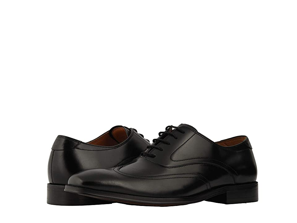Florsheim Belfast Wingtip Oxford (Black Smooth) Men