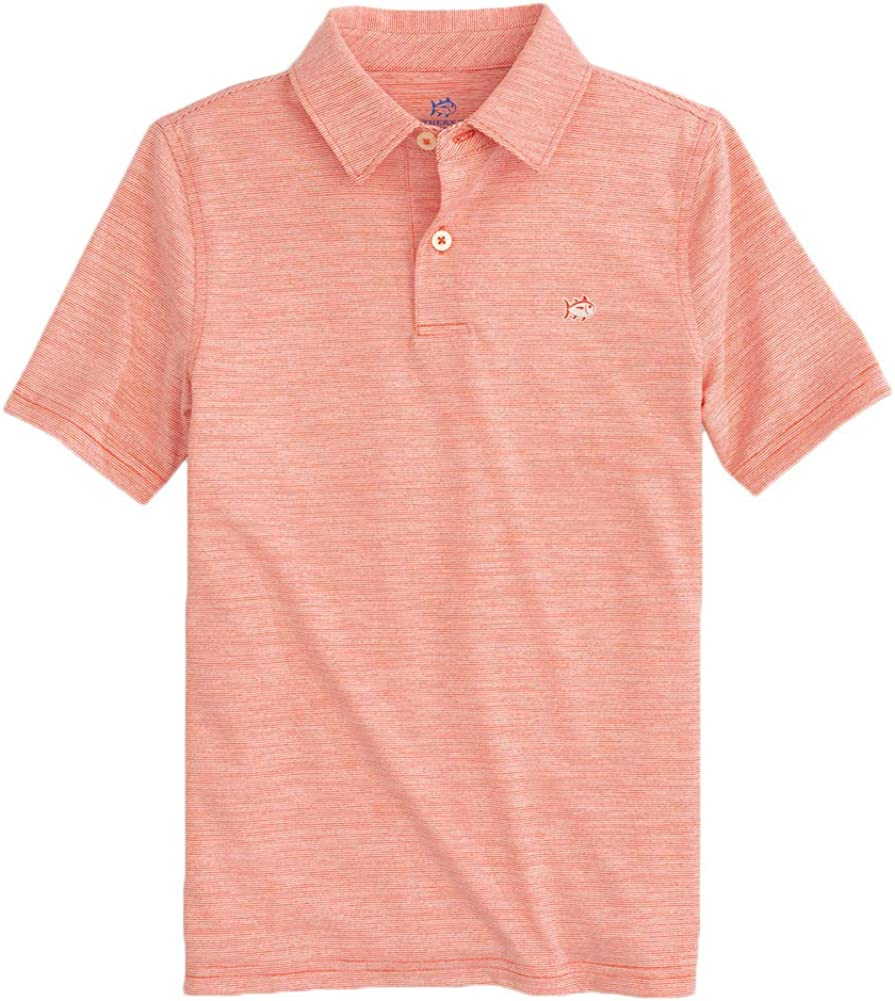 Southern Tide Children's Driver Same day shipping Polo Reservation Perf Spacedye