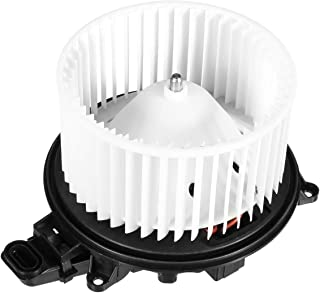 FAERSI HVAC Plastic Heater Blower Motor with ABS Fan Cage Replacement Front Blower Assembly for 2000-2007 Ford Focus//2010-2013 Ford Transit Connect//2002-2008 Jaguar X-Type