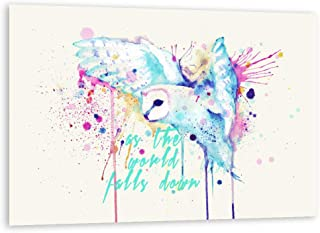 Rainbow Barn Owl (Labyrinth Variant) Fine Art Print