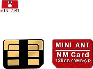 Sulida Tarjeta NM Original Tarjeta de Memoria Nano de 128 GB para Huawei Mate 20, Mate 20 Pro, Mate 20 RS, Mate 20 X, P30, P30 Pro, NOVA5, NOVA5 Pro
