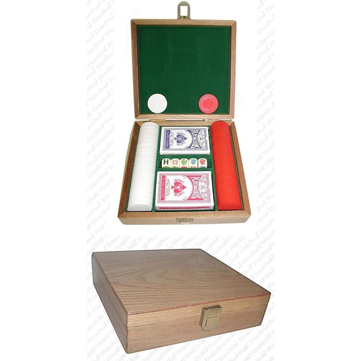 Trademark Poker Gift Set with 100 Chips