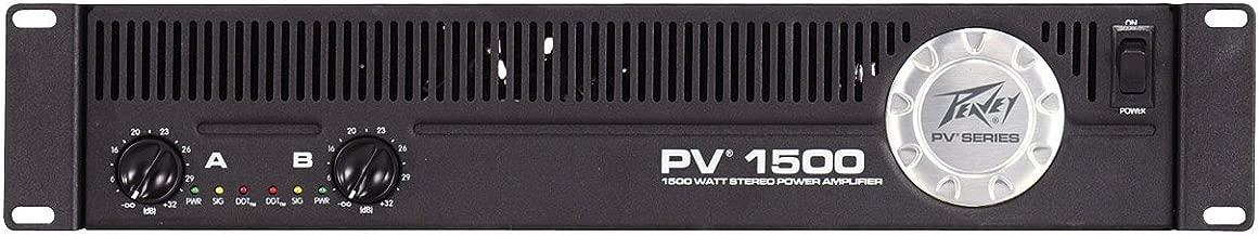 Peavey PV 1500, 1500 Watt Power Amplifier