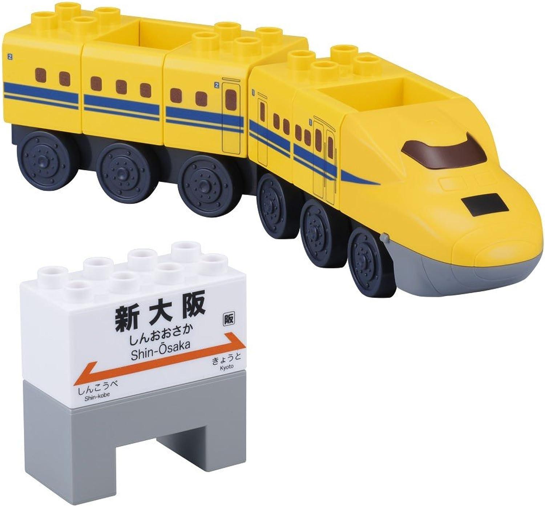BlockLabo block lab vehicle system block 923 Doctor Gelb block set (japan import)