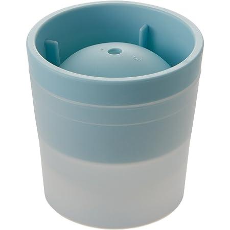 ライクイット ( like-it ) 製氷皿 アイスボールメーカー Ф7.5×高7.5cm ライトブルー 日本製 STK-06L