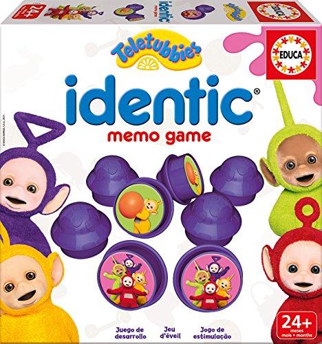 Teletubbies - Baby Identic Memo, Juego de Mesa (Educa Borrás 17063)