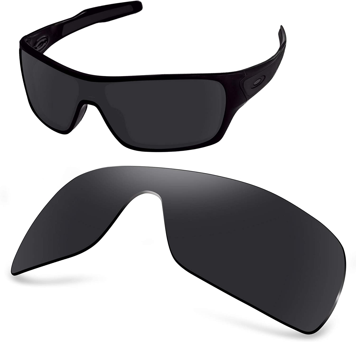 AOZAN ANSI Free Shipping Cheap Bargain Gift New life Z87.1 Replacement Lenses Compatible with Turbi Oakley
