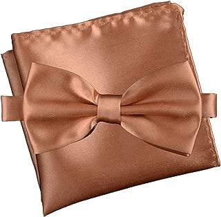 Gentleman's Essentials Neck Tie, Bow Tie and Pocket Square Matching Set