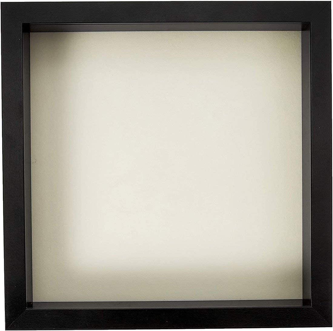 flag connections 11x11 Black Shadow Box Linen Popular overseas Ba Frame Soft 70% OFF Outlet with