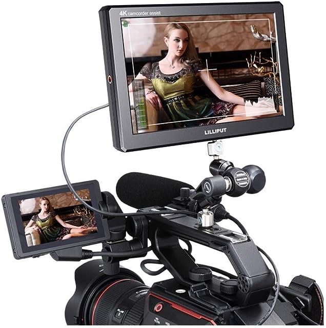 Lilliput A8 3D-LUT 8.9 pulgada 1920x1200 Field Monitor de transmisión Superior de Cámara con Salida HDMI 4K Cámara réflex Digital A7 A7R A7S III A9 GH5 GH5s
