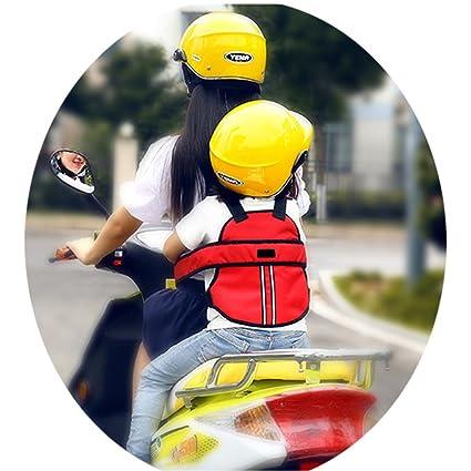 Vine Kinder Einstellbar Motorrad Gurt Kinder Sicherheitsgurt Für Motorrad Kinder Gurte Für Elektro Auto Fahrrad Blau Baby