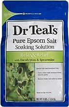 Dr Teals Eucalyptus and Spearmint Pure Epsom Salt Soaking Solution, 1.36 kg