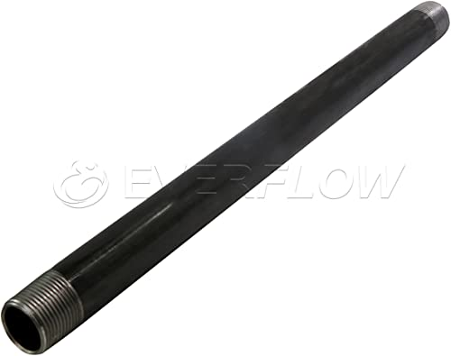 """2021 Supply Giant QDCM1572 72"""" Long Pre-Cut Black Steel Pipe popular with 1-1/2"""" new arrival Nominal Size Diameter sale"""