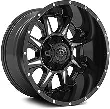 Gear Alloy 742BM Kickstand 20x9 6x135/6x139.7 +0mm Black/Milled Wheel Rim
