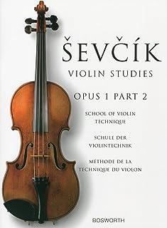 シェフチーク(セヴシック): バイオリン技巧教本 Op.1 パート 2/ボスワース社