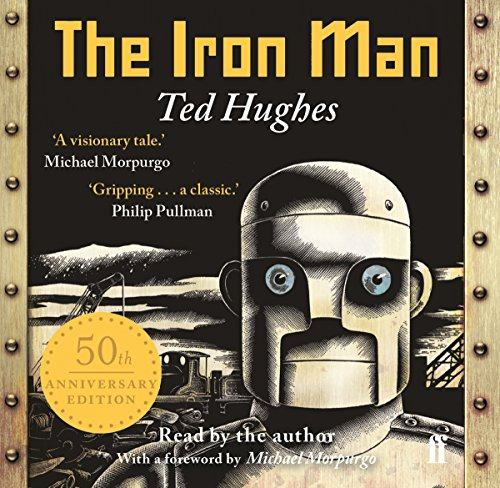 The Iron Man audiobook cover art