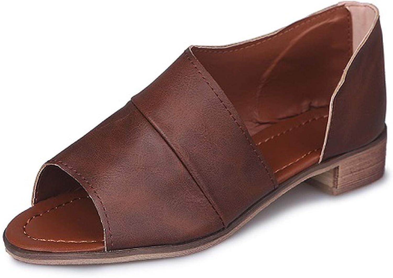 HANBINGPO Peep Toe Snake Print Leopard Sandals Women Rome Chunky Heel Platform 2019 Summer Plus Size 43