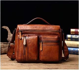 Mens Bag Leather Men's Bag Leather Handbag Shoulder Bag Messenger Bag Men's Bag High capacity