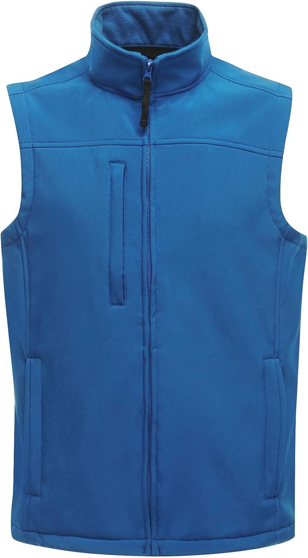 Regatta Mens Flux Softshell Vest Jacket (3XL) (Oxford)