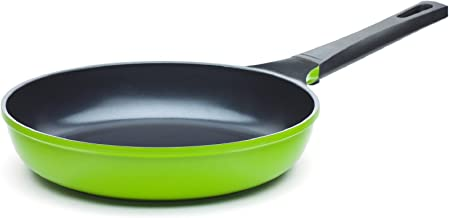 """The 10"""" Green Earth Frying Pan by Ozeri, with Smooth Ceramic Non-Stick Coating (100% PTFE and PFOA Free)"""