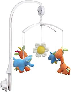 Pixnor Baby Crib Mobile Holder Bed Bell Holder Arm Bracket Wind Up Auto Music Box without Toys