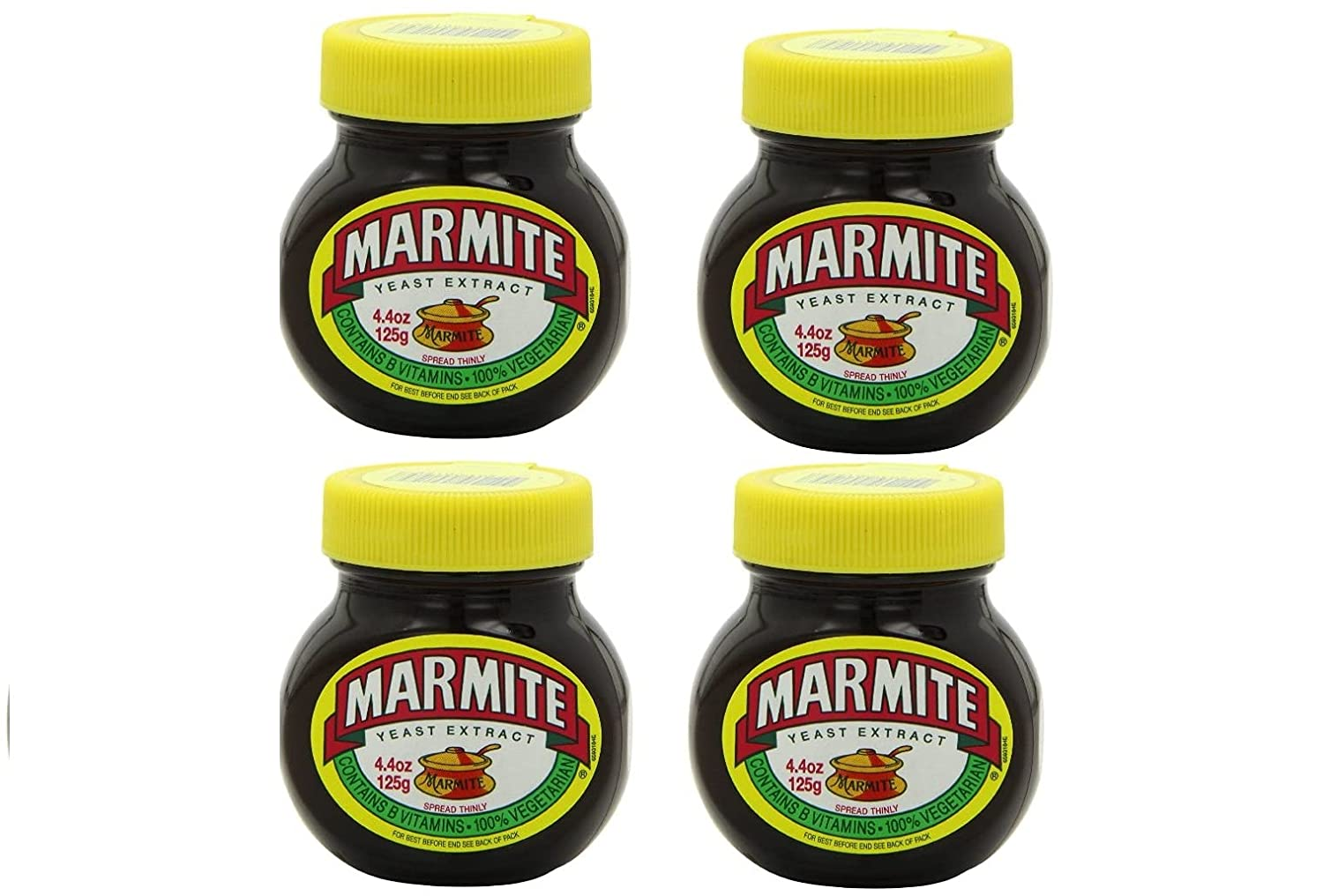 Yeast Extract 4.4 low-pricing Cheap Ounce 4-Pack