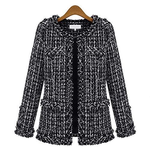 DGFHR Dames Jas Lente Herfst Jassen Vrouwen Windbreaker Vrouwelijke Overjas Cape Jas Vrouw Mantel Tweed